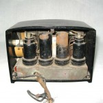 1938 Black & White RCA W Grill Catalin Bakelite Radio