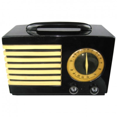 1940 Emerson 400 Aristocrat Catalin Bakelite Tube Radio Very Rare