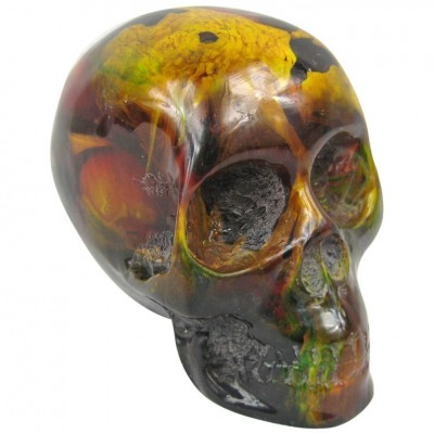 End of Day Bakelite Skull