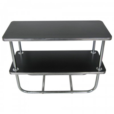 Wolfgang Hoffman for Royal Chrome SIde Table