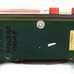 1940's Emerson Blue, White and Red Patriot Catalin / Bakelite Tube Radio