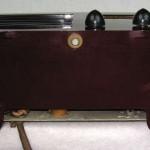 Rare 1938 Emerson AX-235 Maroon with Black Trim Original