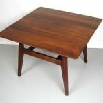 Jens Risom Walnut Coffee Table