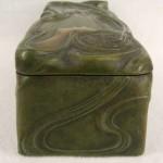 Bronze Art Nouveau Dresser Glove Box Charles Émile Jonchery