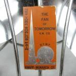 Rare 1939 New York Worlds Fair Fan