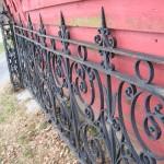 19th Century Iron Fence