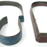 Mid-Century Industrial Glove Hand Mold Cutters