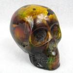 End of Day Bakelite Skull