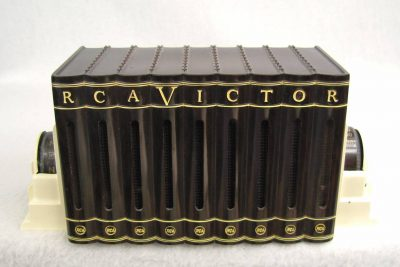 1940's Bakelite RCA Victor Book Radio Brown / white